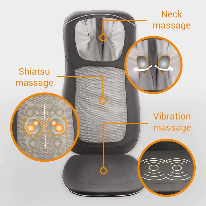 shiatsu massagegerät